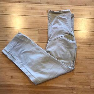 Secret Fit Belly Khaki Capris Maternity Pants
